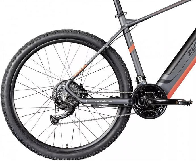Zündapp Z808 E Mountainbike 27,5 Zoll mit 27 Gang für 1.299€ (statt 1.599€)