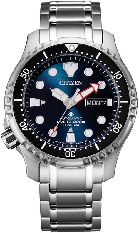 Citizen Titan Herrenuhr Marine   NY0100 50ME für 279,20€ (statt 345€)