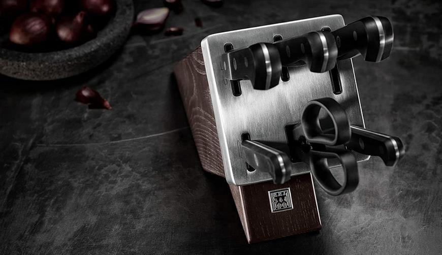Zwilling Gourmet selbstschärfender Messerblock mit 7 Teilen für 129,99€ (statt 165€)