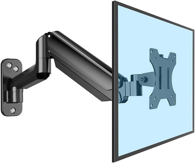 ErGear Monitor Wandhalterung für 13   32 Zoll Monitore mit Gasfedertechnologie für 11,99€ (statt 24€)