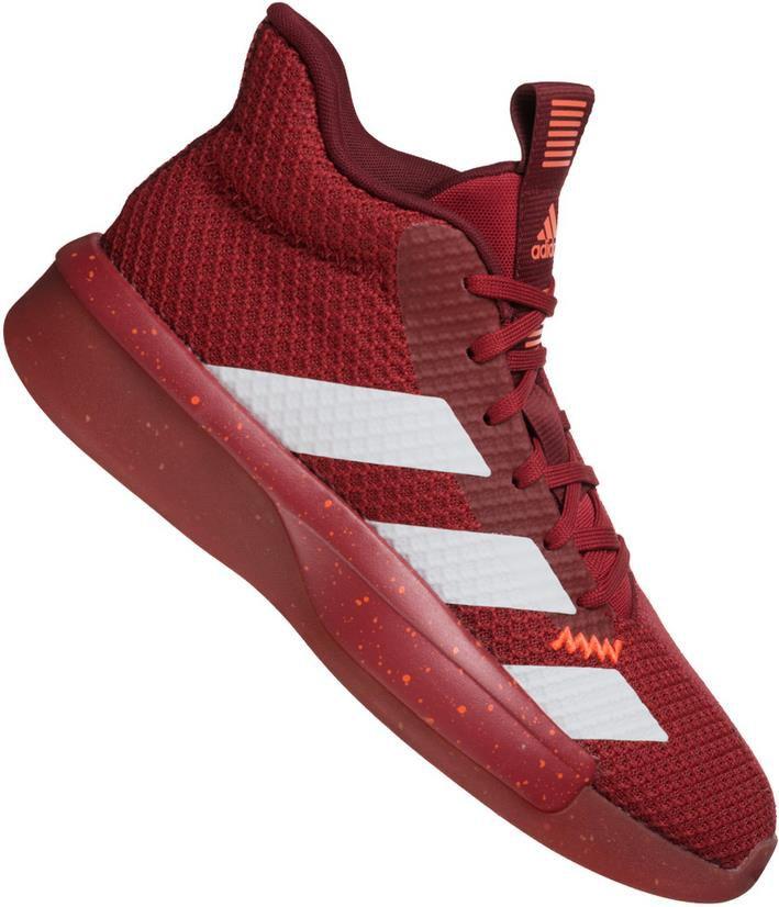 Adidas Pro Next Herren Basketballschuhe in Rot für 48,94€ (statt 90€)