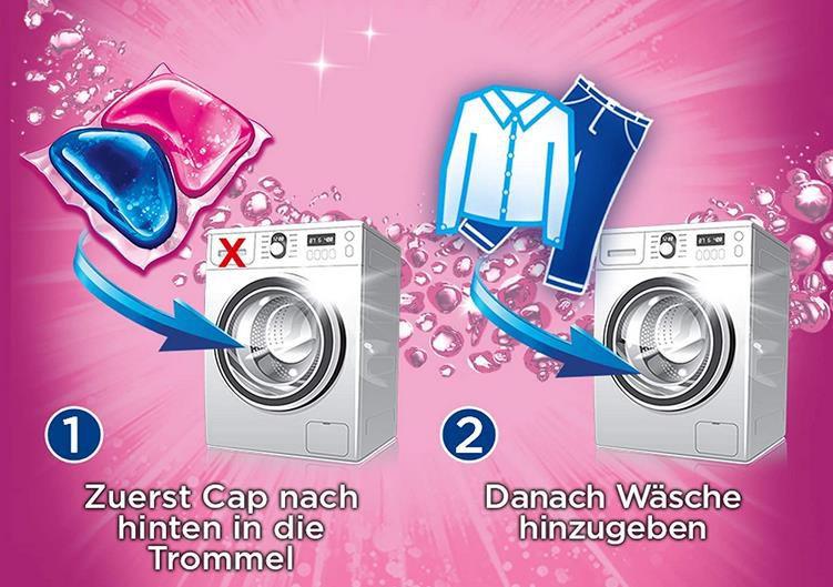 Weißer Riese Color Duo Caps (80 Waschladungen)   Aromatherapie Orchidee & Sandelholz für 8,79€ (statt 14€)