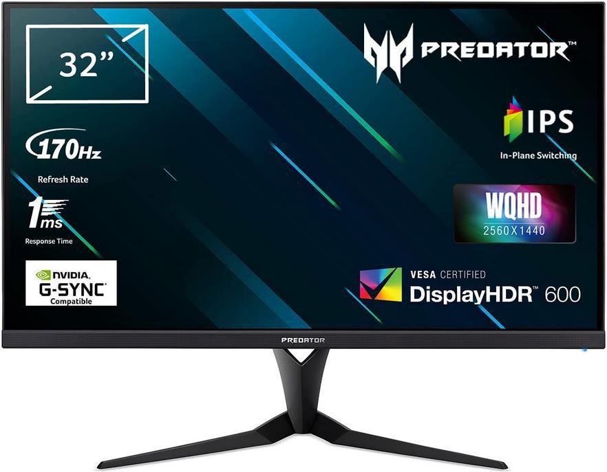 Acer XB323UGP Gaming Monitor 32 Zoll, 144 Hz HDMI/170 Hz DP, 1ms für 498,98€ (statt 669€)