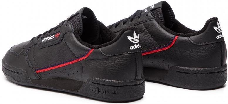 Adidas Continental 80 Sneaker in schwarz für 59€ (statt 67€)