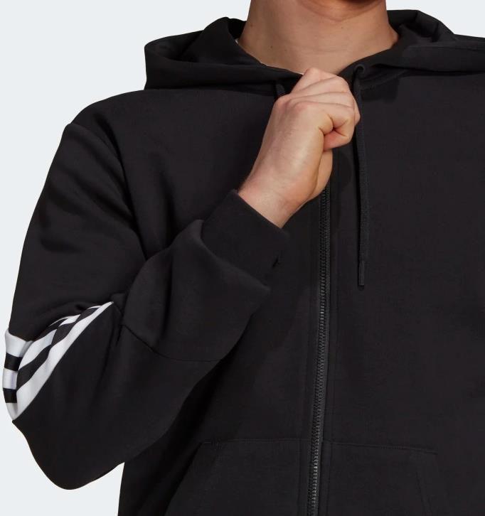 Adidas Sportswear Future Icons 3 Streifen Kapuzenjacke für 49€ (statt 57€)