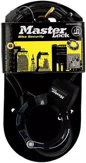 Masterlock 66268700 Street Cuff 100cm Kabelschloss für 20,98€ (statt 29€)