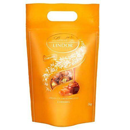 """1kg Lindt LINDOR Beutel """"Caramel"""" für 15,99€ (statt 22€) – Prime"""