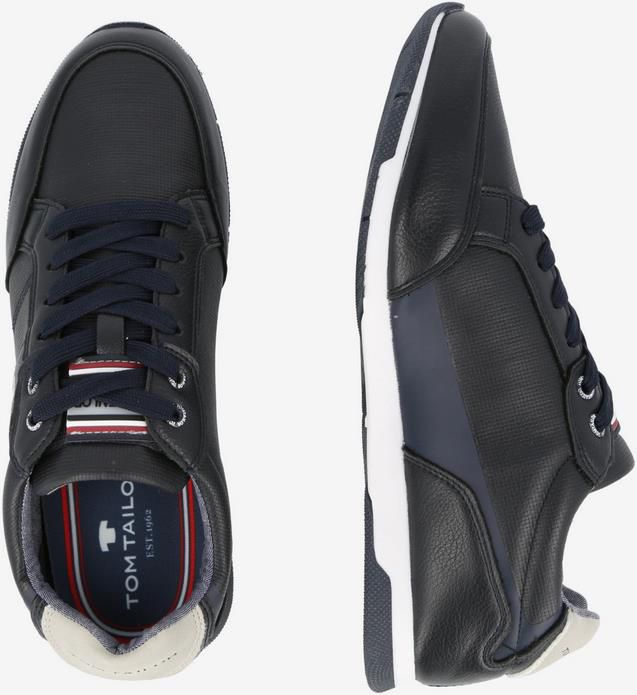 Tom Tailor Herrensneaker in Navy Blau   Größe 41 bis 44 für 19,79€ (statt 40€)