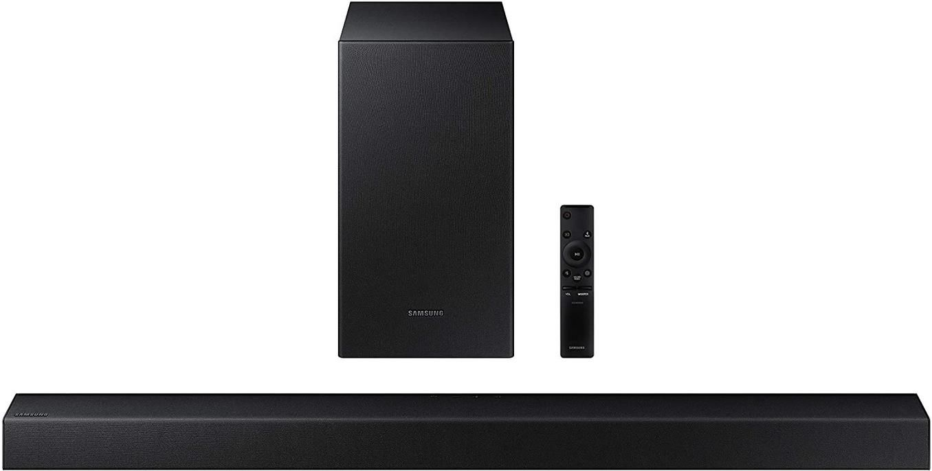 Samsung Soundbar HW T430/ZG 2.1. Kanalsystem für 84,43€ (statt 130€)