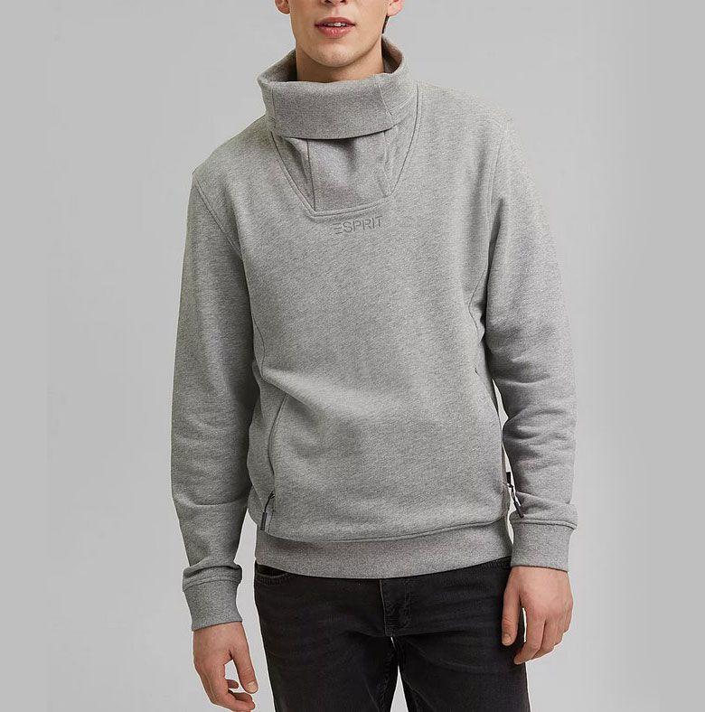 ESPRIT #ReimagineFlexibility Sweatshirt in Grau für 21,96€ (statt 33€)