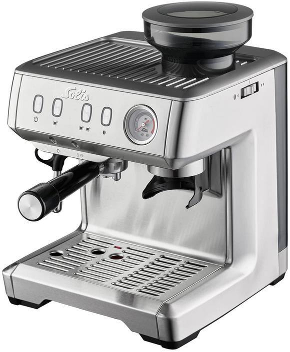 Solis 980.09 Grind + Infuse Compact halbautomatische Espressomaschine für 479€ (statt 530€)