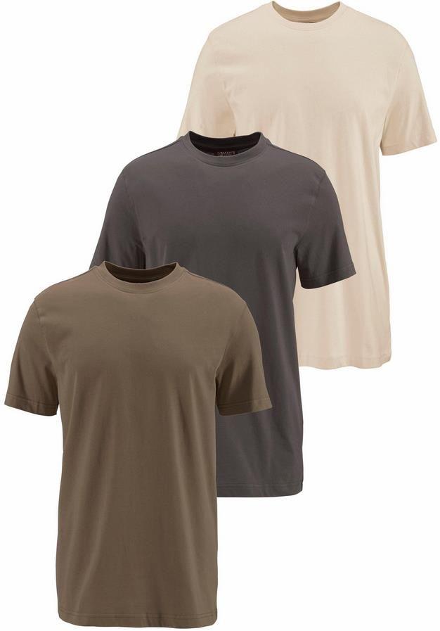 3er Pack Mans World T Shirt in verschiedenen Farben für 19,94€ (statt 24€)