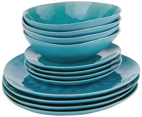 Butlers   De la roya   Dinner Geschirr Set 12 tlg. für 69,99€ (statt 80€)