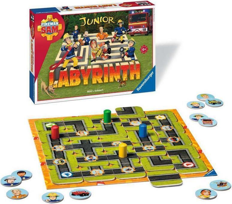 Ravensburger Feuerwehrmann Sam Spiel Labyrinth für 18,94€ (statt 23€)