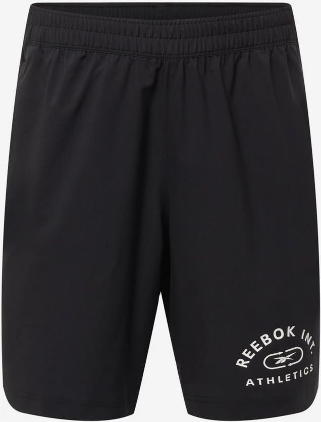 Reebok Sport Shorts in schwarz / weiß für 24,43€ (statt 35€)