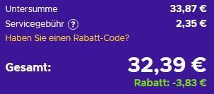 40€ PlayStation Network Guthaben für 32,39€