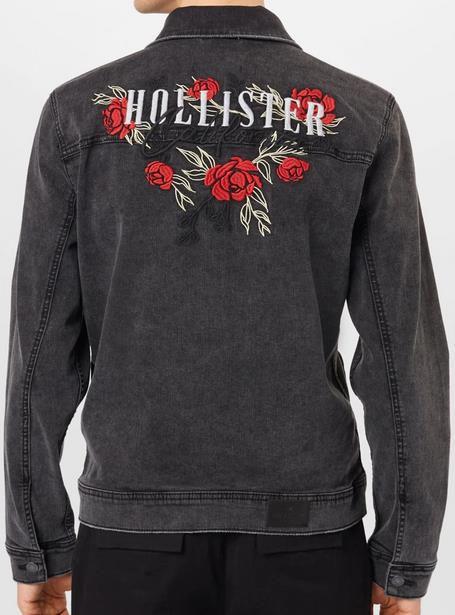 Hollister Jeansjacke mit Rückenprint für 27,96€ (statt 85€)