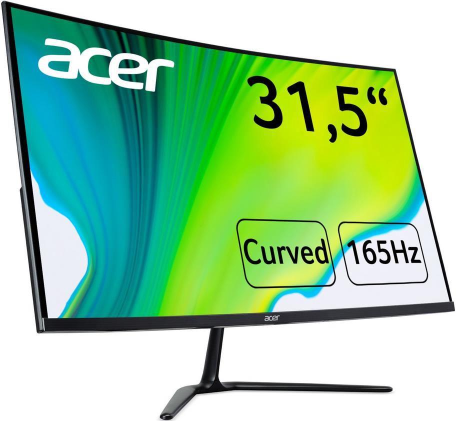 Acer Nitro ED320QRPbiipx   32 Curved Gaming Monitor 165Hz / 5ms für 204,98€ (statt 234€)