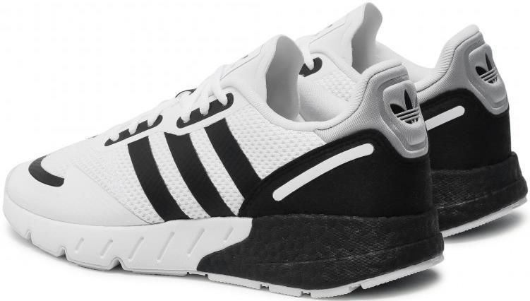 Adidas Zx 1K Boost FX6510 Herrensneaker in Schwarz/Weiß für 64€ (statt 75€)