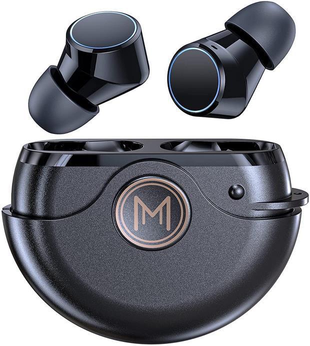 DUALMM   in Ear Bluetooth Kopfhörer mit Touch Bedienung für 19,99€ (statt 40€)
