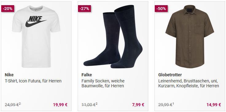 Galeria Fashion Sale   50% Extra auf reduzierte Artikel ab 100€ Einkaufswert z.B. Gant, SuperDry, Adidas