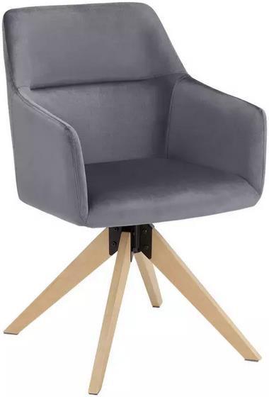 Bessagi Stuhl Sara in dunkelgrau für 47,25€ (statt 59€)