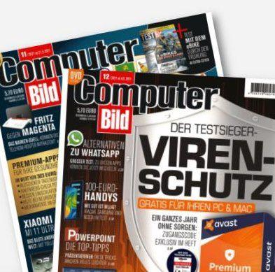 Gratis! 3 Monate Computer Bild mit DVD für 0€ (statt 36,90€)