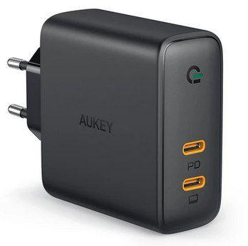 Aukey Focus Duo 63W (PA D5) Ladegerät für 26,59€ (statt 40€)