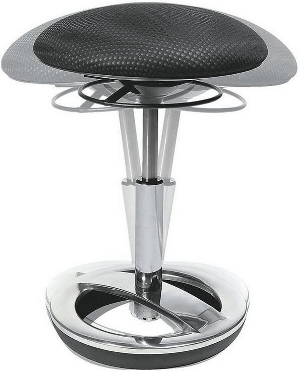 Topstar Sitness Bob   ergonomischer Sitzhocker in schwarz für 70,91€ (statt 95€)