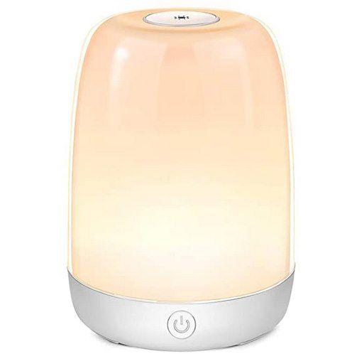 ceshu LED Nachtlampe mit 3 Stufen & 6 Farben für 14,49€ (statt 29€)   Prime