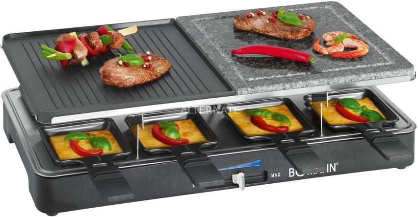 Bomann RG 2279 CB Raclette für bis zu 8 Personen für 41,98€ (statt 62€)