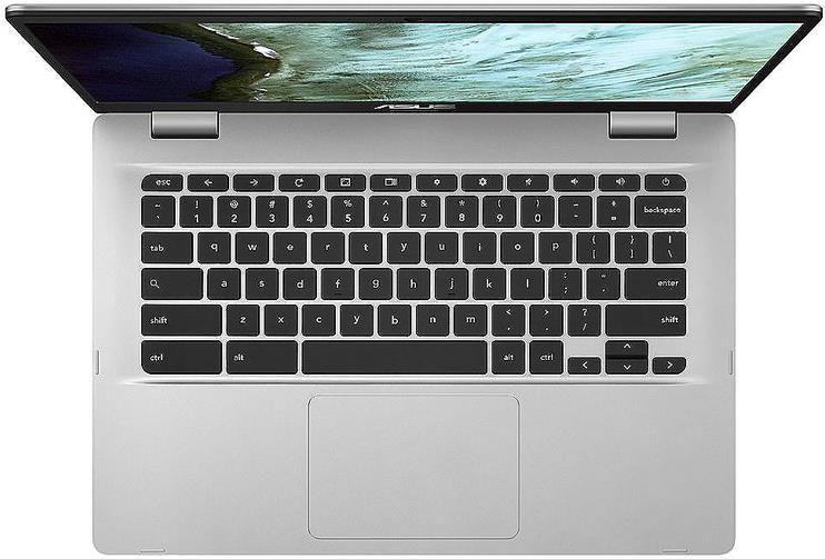 ASUS Chromebook (C423NA EB0462) 14 FHD IPS (Celeron N3350, 4GB RAM, 64GB Speicherplatz) für 204,99€ (statt 283€)