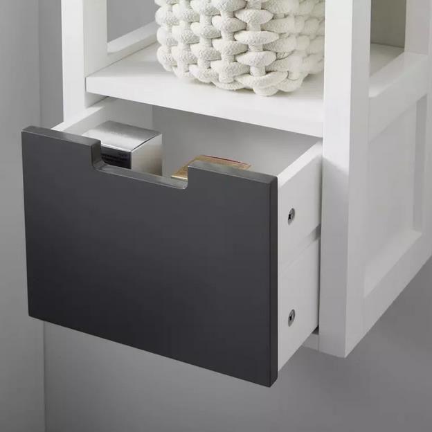 Bessagi Hängeschrank Tia in Grau / Weiß für 40,88€ (statt 50€)