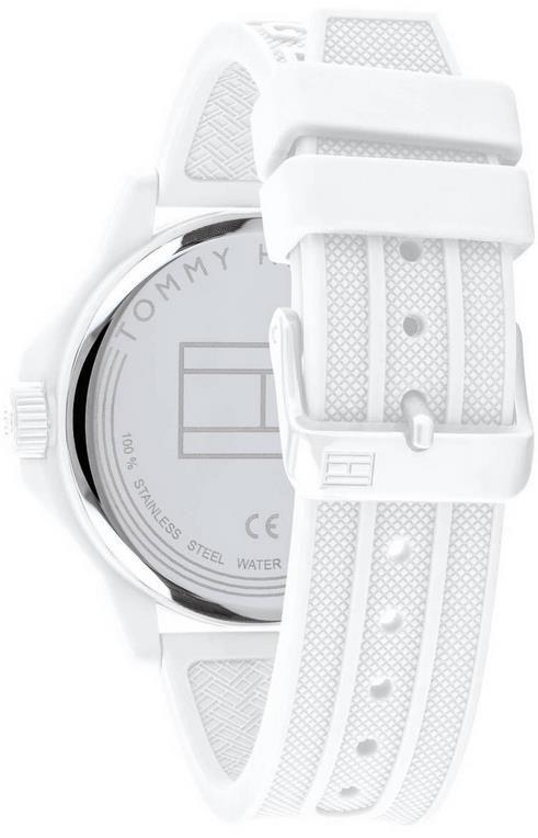Tommy Hilfiger Herrenuhr Sneaker in Weiß für 53,94€ (statt 86€)