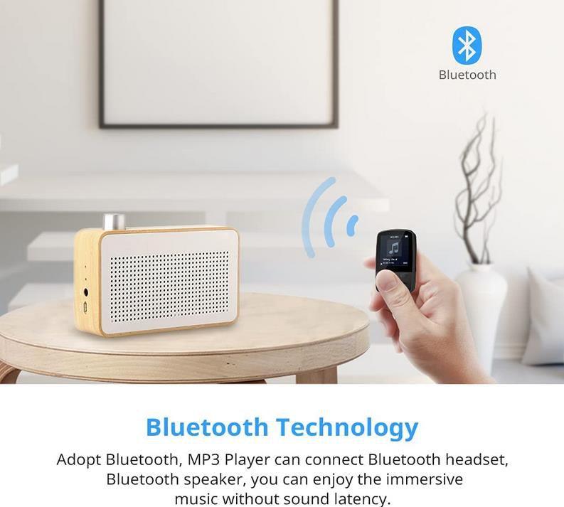 Govicture Bluetooth MP3 Player 16 GB mit Diktierfunktion für 21,99€ (statt 35€)