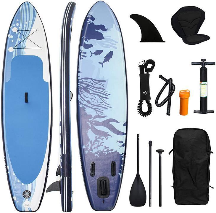 Einfeben   Aufblasbares Stand Up Paddle Board Set ab 174,93€ (statt 250€)