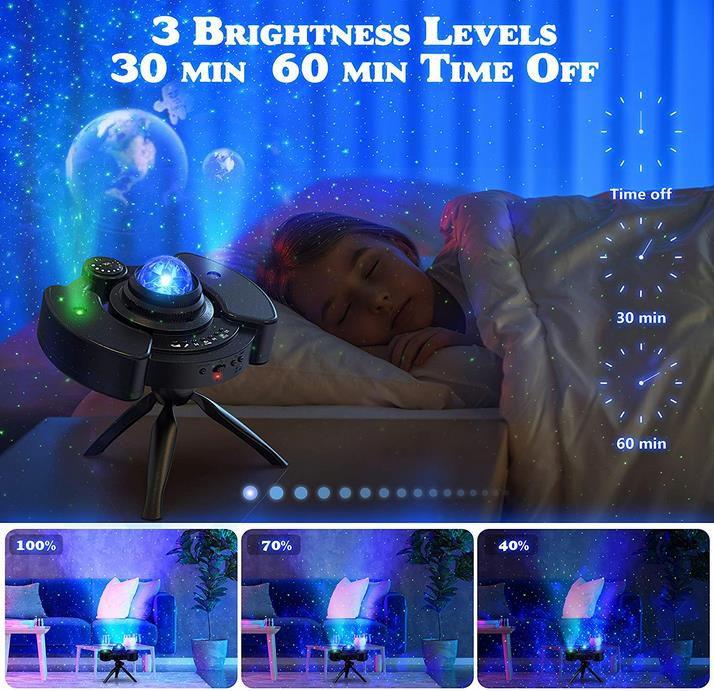 KPCB Sternenhimmel Projektor Lampe mit Bluetooth Modus für 21,49€ (statt 43€)
