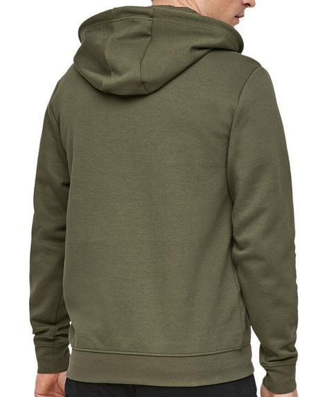 S.Oliver Sweatshirt mit kurzem Reißverschluss in Khaki für 31,94€ (statt 40€)