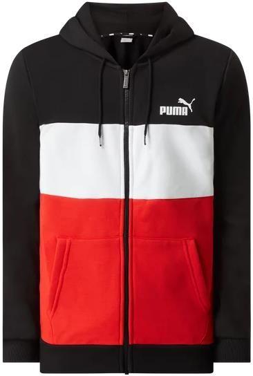 Puma Performance Sweatjacke mit Blockstreifen in zwei Designs für 33,99€ (statt 40€)