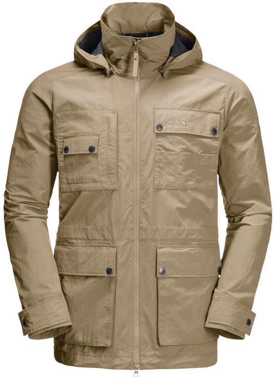 Jack Wolfskin Lakeside Safari Jacket M in Sandfarben für 92,90€ (statt 103€)