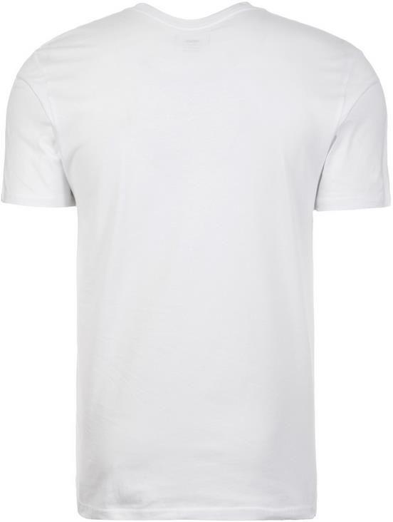 Vans   Off the Wall   Herren T Shirt in weiß für 13,50€ (statt 21€)