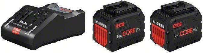 Bosch Starter Set 18V 2x ProCORE18V 12.0Ah + GAL 18V 160 C + GCY 42 für 316,22€ (statt 345€)