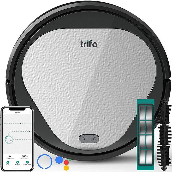 Saugroboter Trifo Emma mit 3000Pa Saugkraft und App/Alexa Steuerung für 151,99€ (statt 190€)