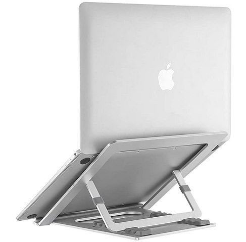 NATOL Laptopständer aus Aluminium mit 8 Stufen & für bis zu 17 Zoll für 9,99€ (statt 20€) – Prime