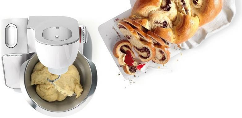 Bosch MUM58257 Küchenmaschine mit Zubehör für 238,99€ (statt 264€)