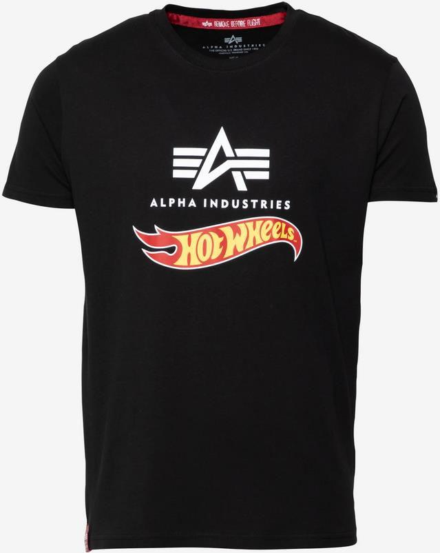 Alpha Industries Hot Wheels T Shirt in schwarz für 23,90€ (statt 30€)