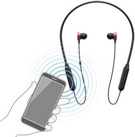 Pioneer SE QL7BT   Bluetooth In Ear Kopfhörer in Rot für 15,99€ (statt 37€)