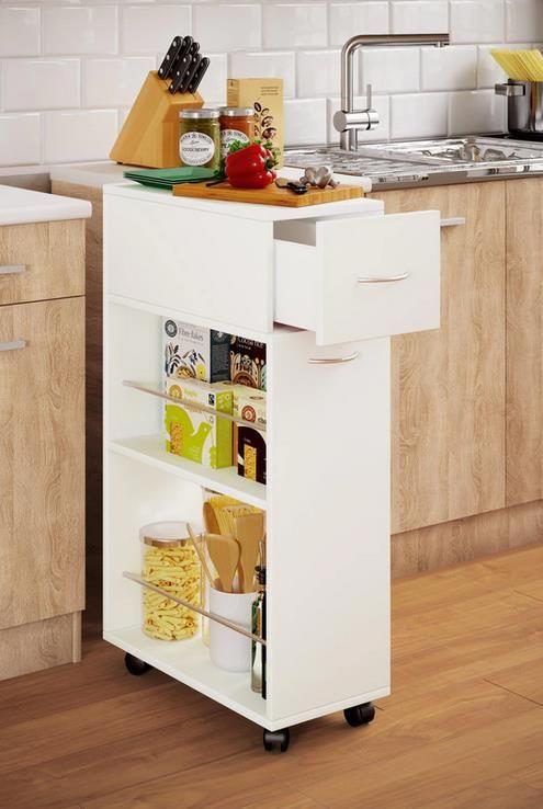 VCM Nischen Küchenwagen Tusal mit Schublade für 39,99€ (statt 54€)