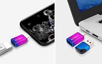 2in1 MECO ELEVERDE USB C & USB 3.0 Stick mit 128GB für 14,99€ (statt 30€)   Prime