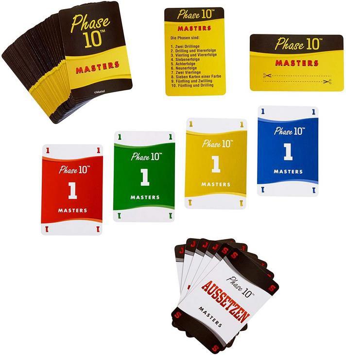 Mattel FPW34 Phase 10 Masters   Kartenspiel für 8,49€ (statt 18€)
